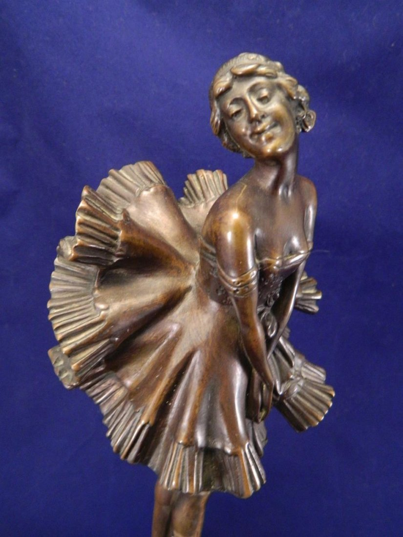 Can Can Girl Bronze Phillipe - 3