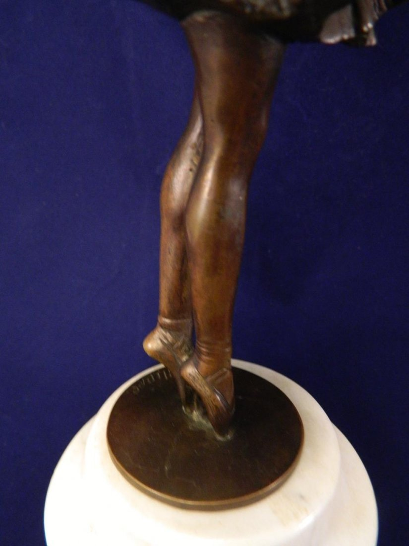 Can Can Girl Bronze Phillipe - 4