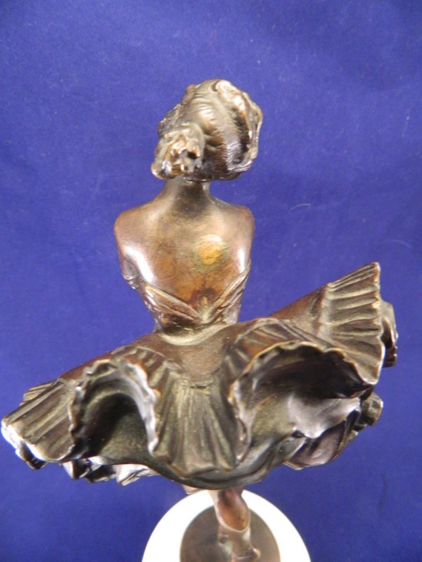 Can Can Girl Bronze Phillipe - 9