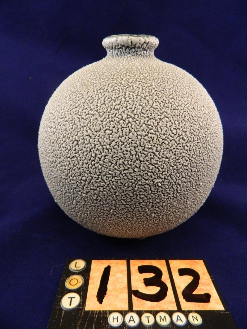 Jean Besnard Vase France Gray