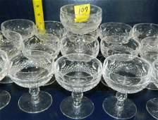 Waterford Crystal Colleen Pattern Stemware Vintage