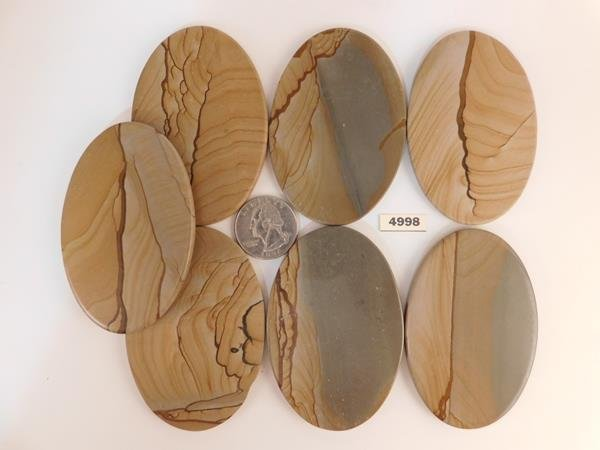 JASPER CABOCHONS STONE ROCK LAPIDARY JEWELRY PICTURE