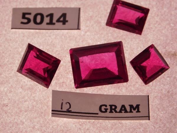 12 GRAMS RUBY JEWELS GEMS