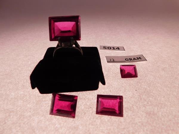 12 GRAMS RUBY JEWELS GEMS - 2
