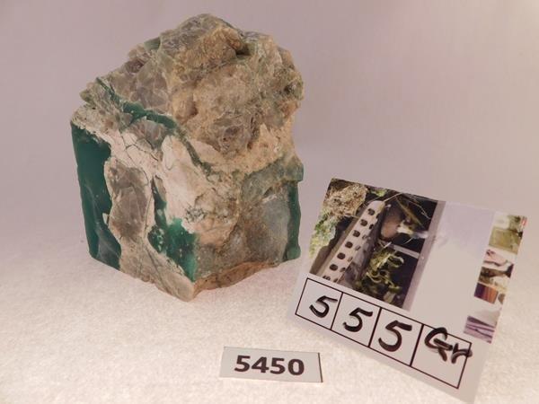 555 GRAM ROCK STONE SPECIMEN LAPIDARY ROUGH - 4