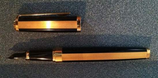 Waterman (New) Day & Night 18kt Nib Fountain Pen