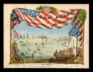 1860 Live Oak Polka Sheet Music