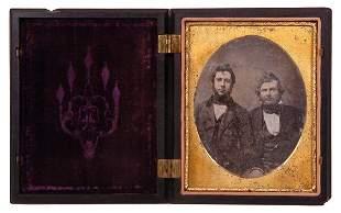 1855 A. Cartwright Daguerreotype Photo