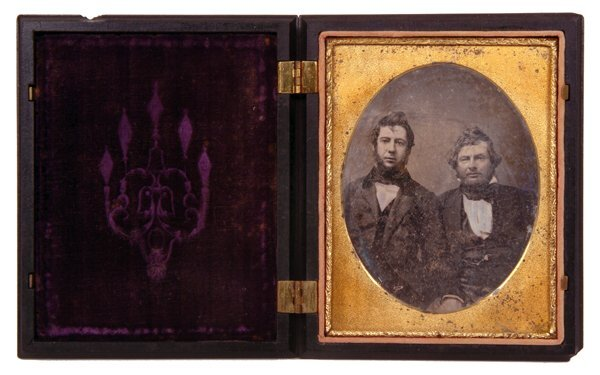 2: 1855 A. Cartwright Daguerreotype Photo