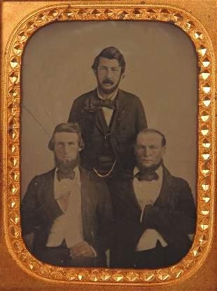 1860 A. Cartwright Ambrotype Photo