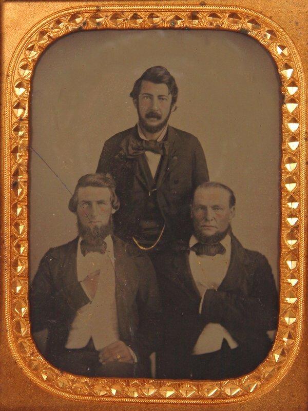 3: 1860 A. Cartwright Ambrotype Photo