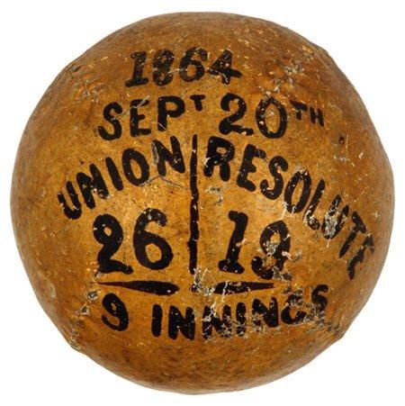 4: 1864 Unions vs. Resolutes Trophy Ball