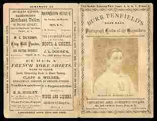 1871 Troy Haymakers Photo Scorecard