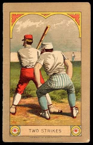 1884 Union League Scorecard