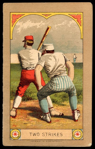 7: 1884 Union League Scorecard