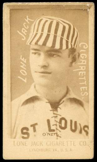 1886 N370 Lone Jack Cigarettes O'Neil