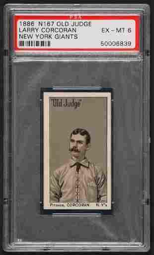 1886 N167 Old Judge Corcoran