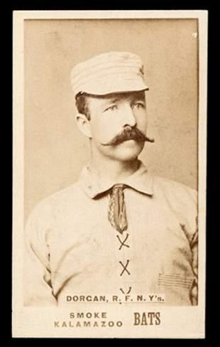 1887 N690 Kalamazoo Bats Dorgan, NY's
