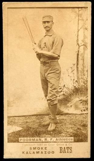 1887 N690 Kalamazoo Bat Poorman