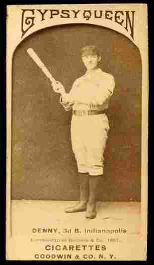 1887 N175 Large Gypsy Queen Denny
