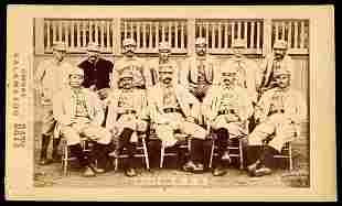 1887 Kalamazoo Bats Boston Team Card