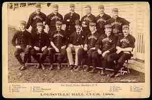 1888 Louisville Joseph Hall Cabinet