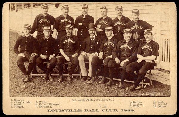 21: 1888 Louisville Joseph Hall Cabinet