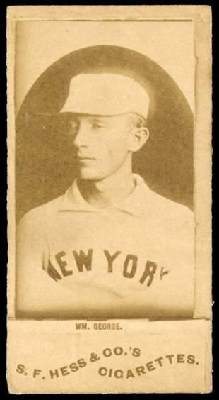 1888 N338-2 S.F. Hess Wm. George