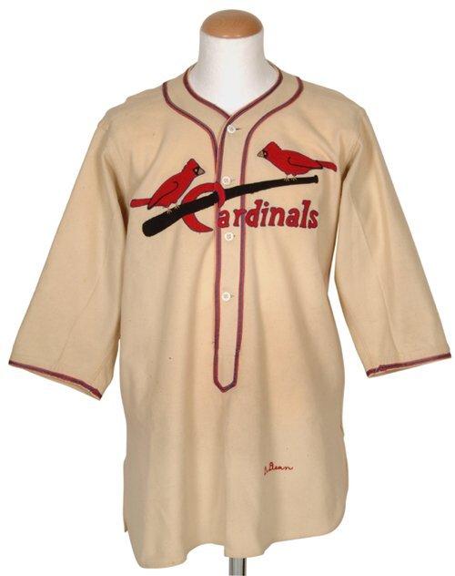 63: 1936 Dizzy Dean Cardinals Home Jersey
