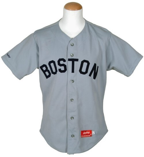 599: Wade Boggs Red Sox Game-Used Jersey