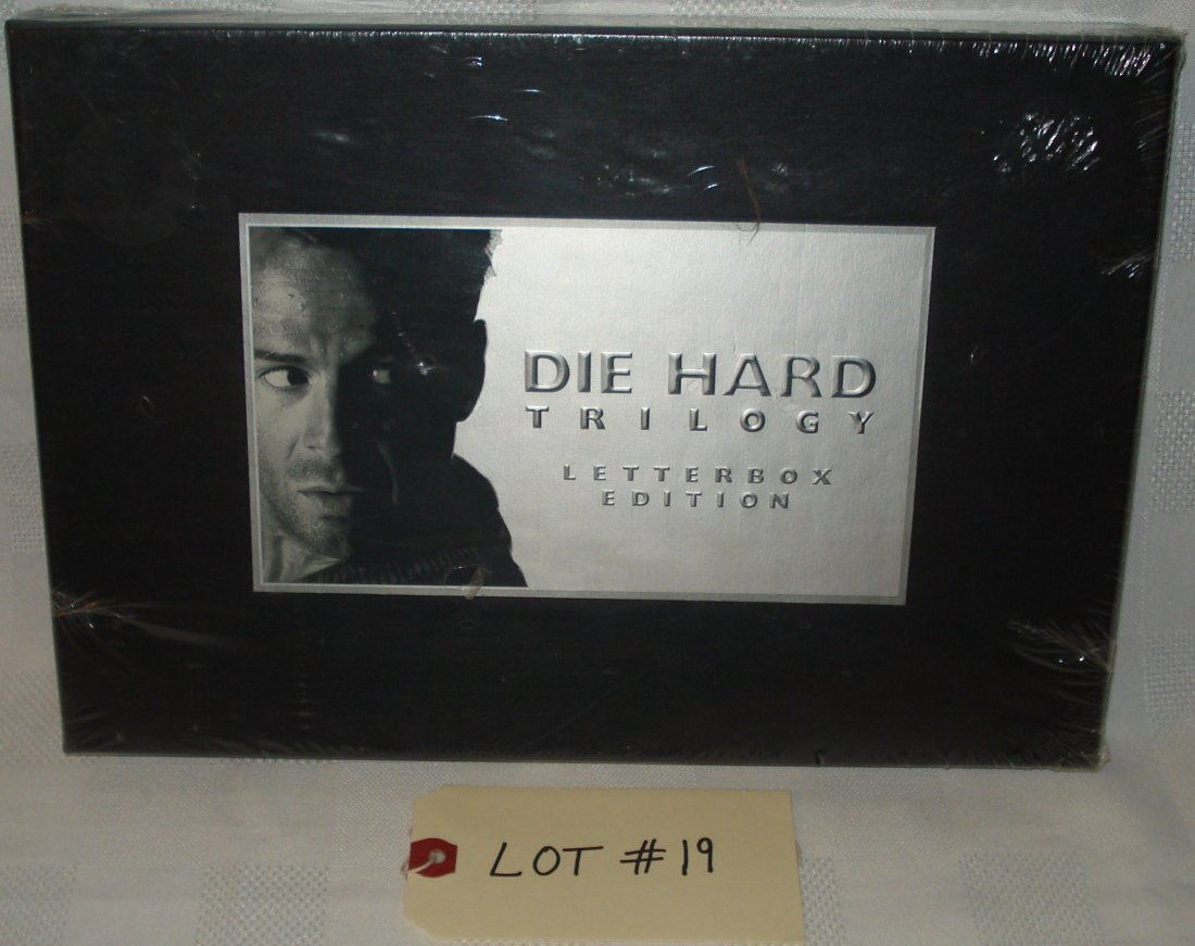 die hard trilogy vhs box set