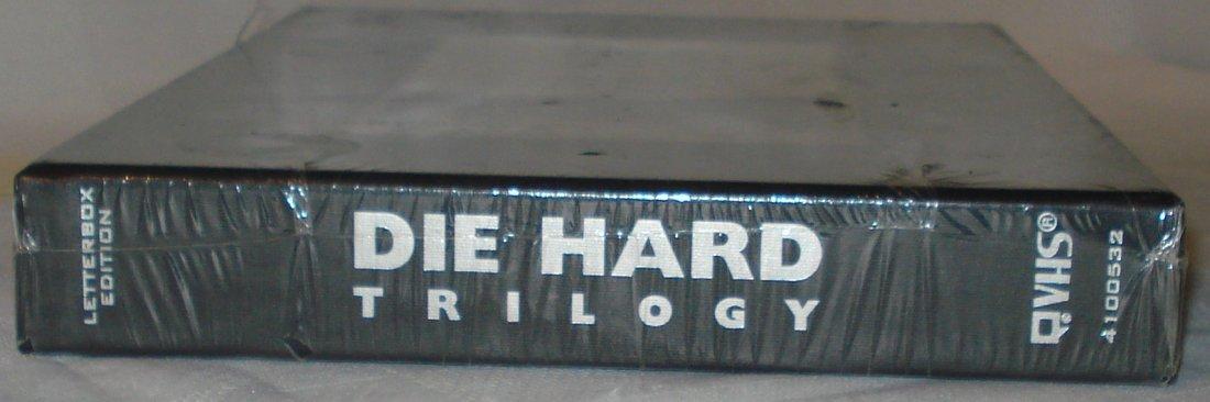 die hard trilogy vhs box set - 3