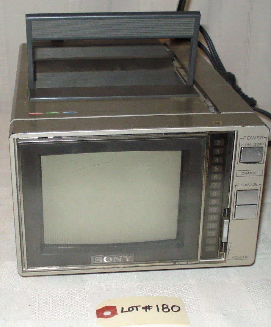 Sony Trinitron 5-inch color tv