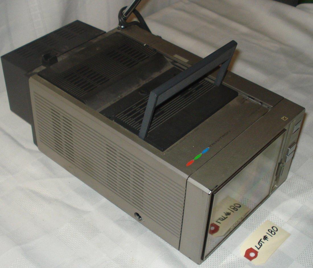 Sony Trinitron 5-inch color tv - 2