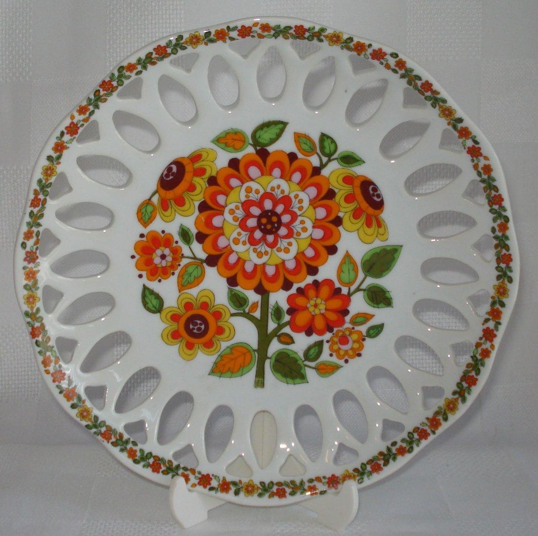 Schmidt (Brazil) porcelain plate - 2