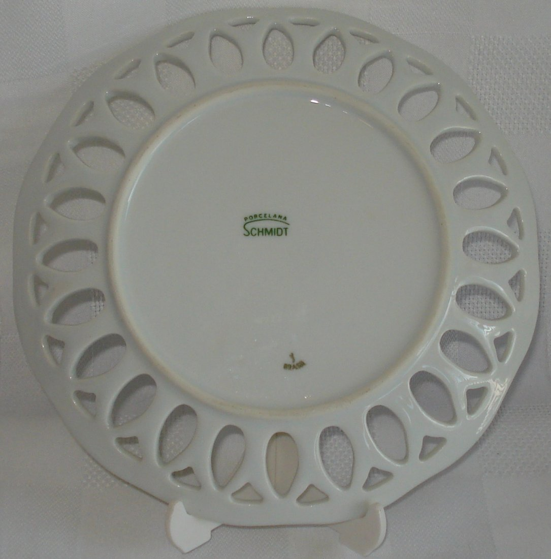 Schmidt (Brazil) porcelain plate - 3