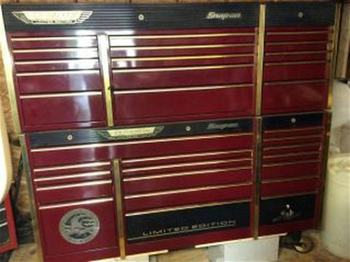 Limited Edition Gold Metal Snap On Cabinet Snap On Tool