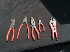 Snap On  Bluepoint Pliers 5
