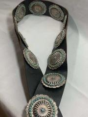 Jason Yazzie Designed SW Indian Belt There are 11