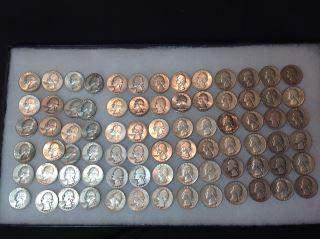 Silver Washington Quarters (78) .