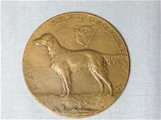1966  Laura Gardin Bronze Medallion Irish setter Club