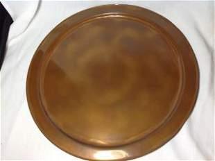 Copper Platter - Solid Copper by Avon Copper Smith
