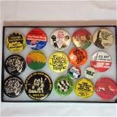 Civil Rights Button Lot .
