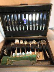 Towle Sterling Silver Flatware Collection Service for