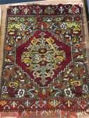 Antique South Caucasian Prayer Rug All wool, Pre-1900,
