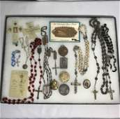 Rosaries & Religious Medals Collection .