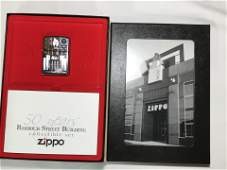 Zippo Barbour Street Building Collectible set with