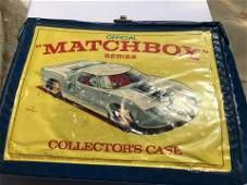 Matchbox Collectors Cars and Case Mix of Hot Wheels