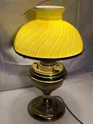 Victorian Converted Oil Lamp works