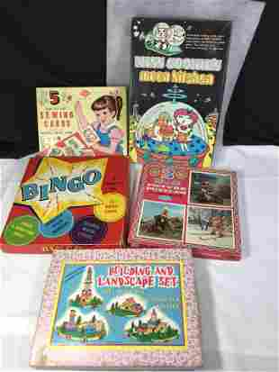 1960's Children's toy Lot 5 toys .